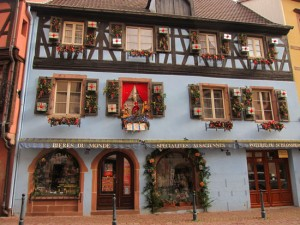 Kaysersberg at Christmas in Alsace
