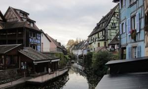 Colmar riverside cottages, Alsace