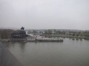 View from Koblenz Cable Car