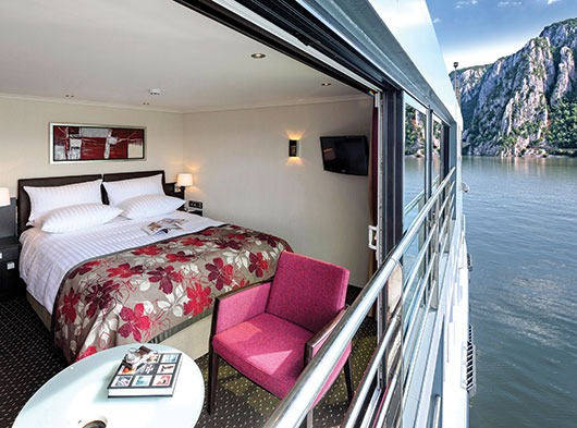 Avalon Waterways French Balcony Stateroom