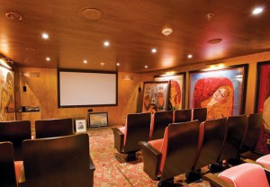 Cinema on the SS Antoinette