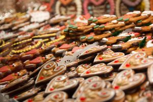 Ginger bread at Christmas markets