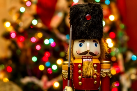 Nutcracker Christmas market toy