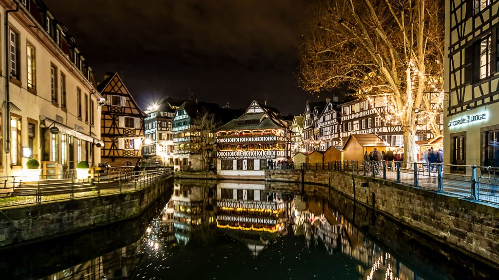 Strasbourg at New Year
