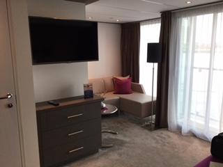 Amadeus Silver II Suite Seating Area