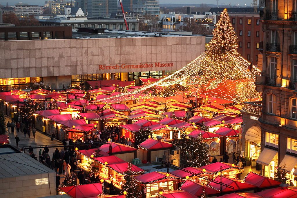 explore the markets on a Christmas river cruise