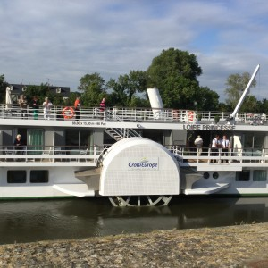 Paddle wheel on Loire Princess