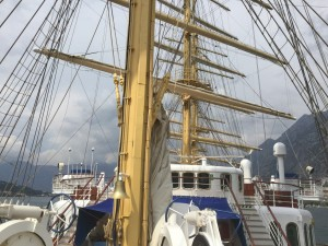Royal Clipper Masts
