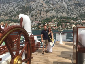 Simeon & Alex on Royal Clipper
