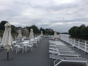Loire Princess sun deck
