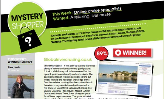 Service Winner - Global River Cruising