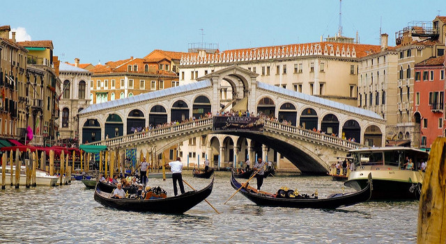 have a tour of Venice on a river cruise in northern Italy
