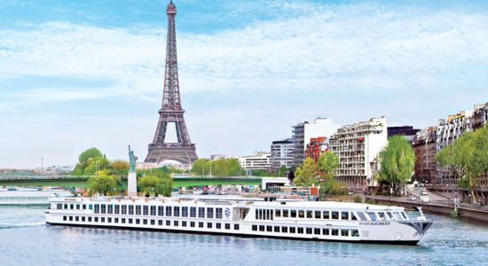 Enjoy seeing Paris on a Uniworld river cruise