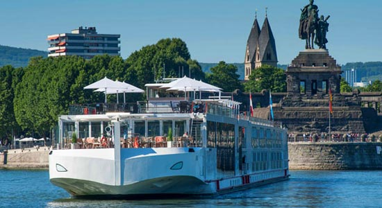 luxury river cruises in Europe are growing in popularity