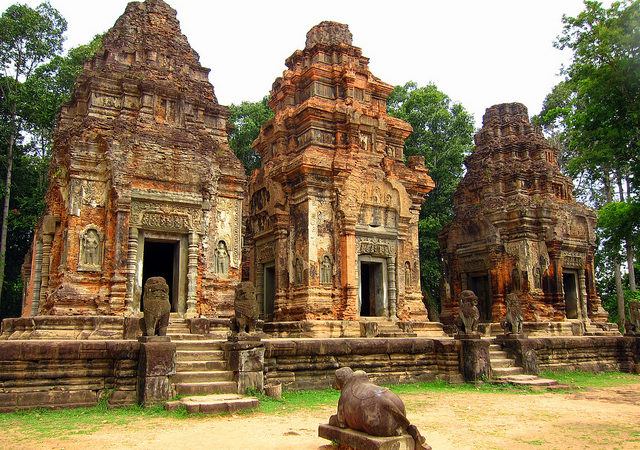 See the Angkor Temples on a Mekong River cruise