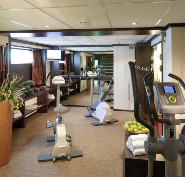 Amadeus Diamond Fitness room