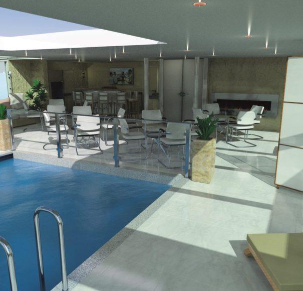 Amadeus Queen Indoor Pool and Club Lounge
