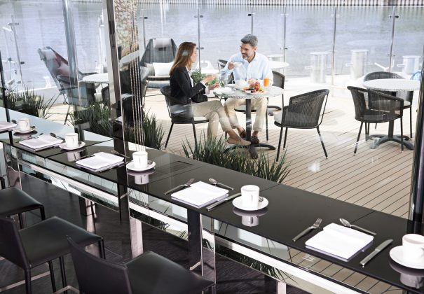 Emerald Waterways Space Ship Cafe