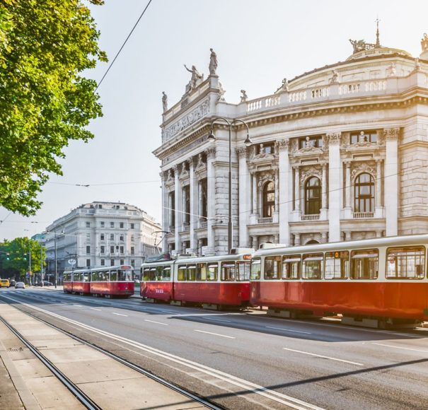 Vienna with Tram Riviera
