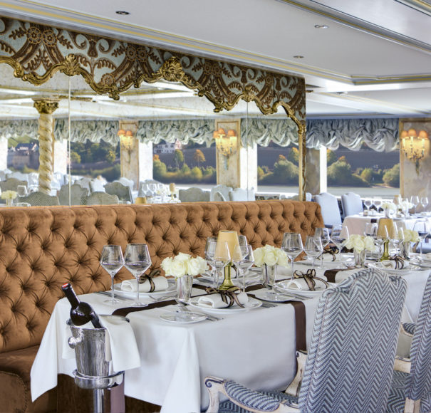 Uniworld SS Maria Theresa Baroque Restaurant
