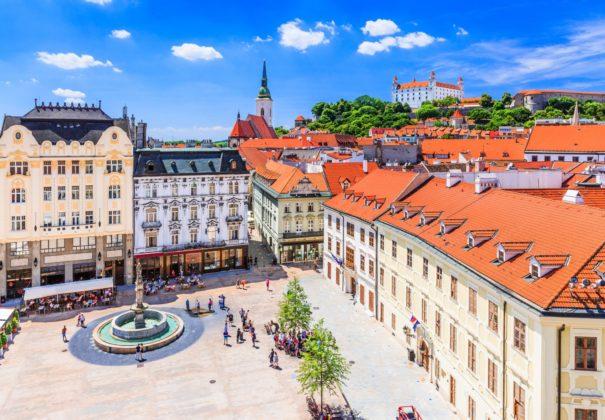 Day 6 - Arrival in Bratislava