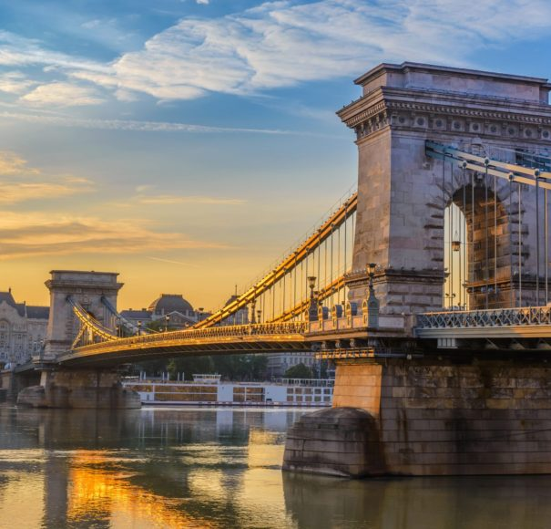 Danube - Budapest Chain Bridge