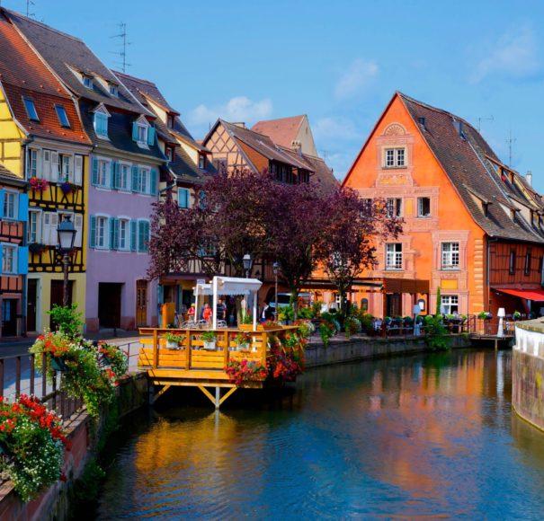 Rhine - Cityscape of Colmar