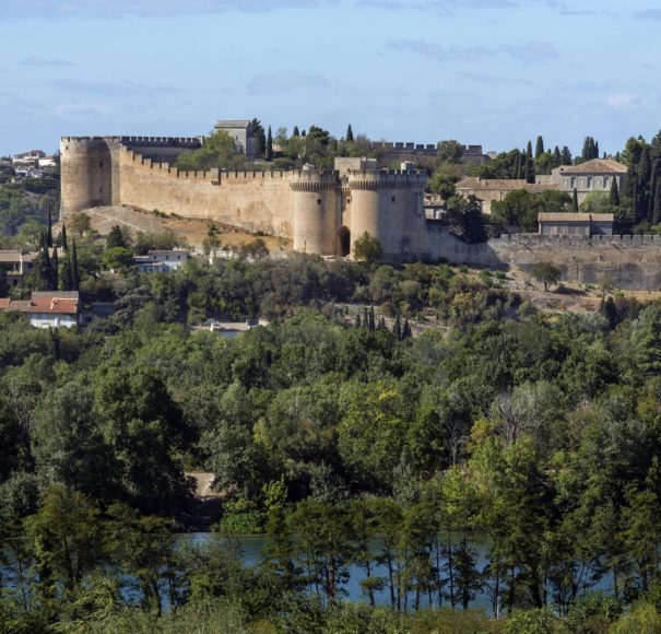 Rhone - Fort Saint-Andre on Mont Andaon in Villeneuve-les-Avignon