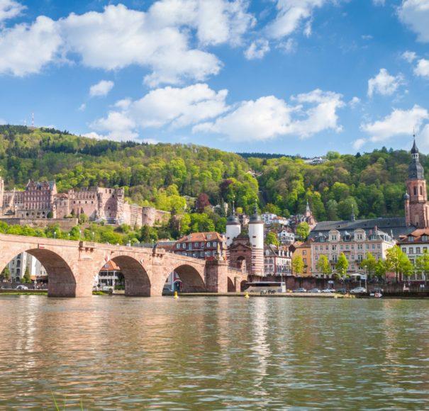 Rhine---Carl-Theodor-Old-Bridge-with-Heidelberg-CastleLowRes