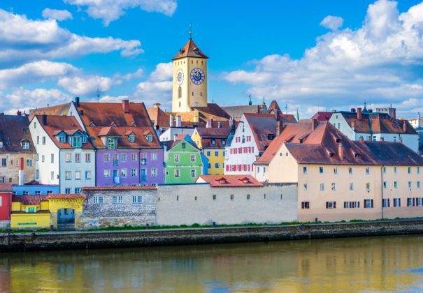 Day 15 - Straubing, Cruising the Danube River, Regensburg