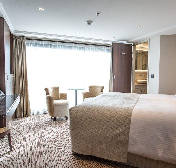 Riviera Travel Emily Bronte Stern Suite
