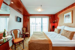Riviera Travel Swiss Corona French Balcony Cabin
