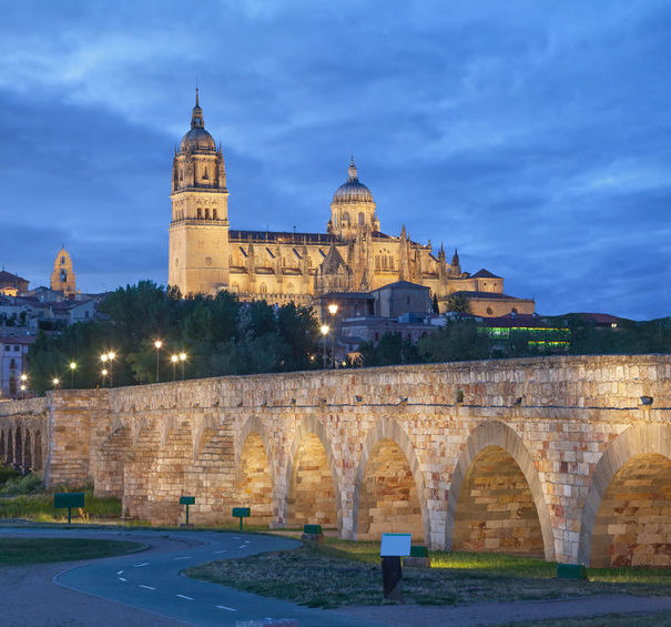 Douro - Salamanca at night