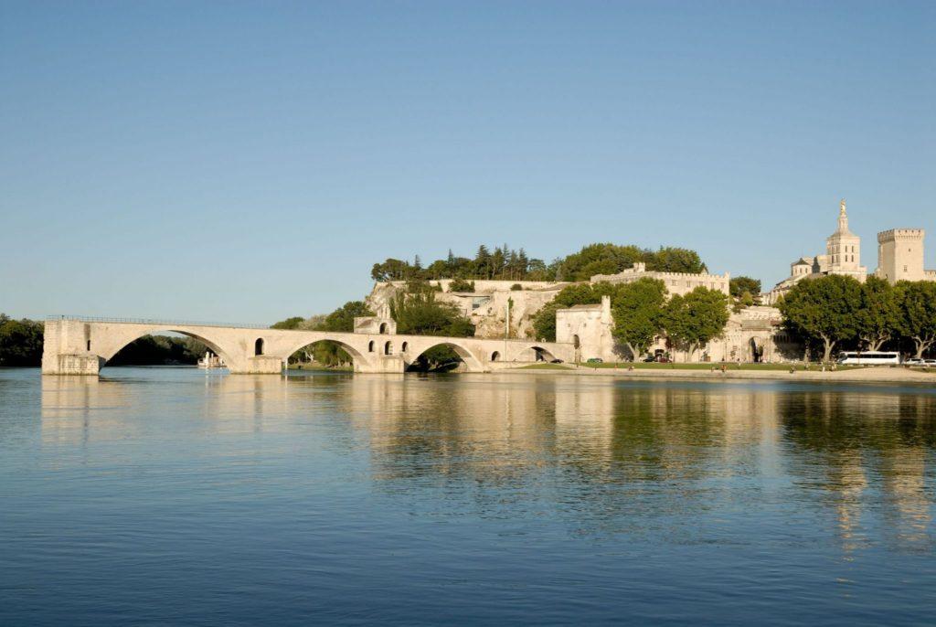 Avignon Bridge in France