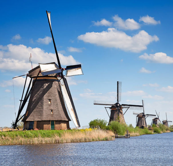 River Cruises Dutch Waterways - Kinderdijk