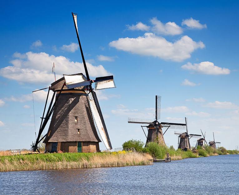 River Cruises Dutch Waterways - Kinderdijk
