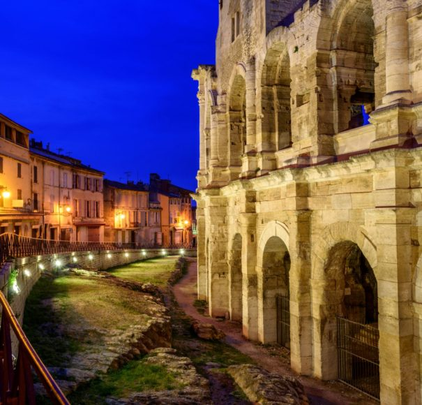 Titan Travel Rhone Arles Old Town and roman amphitheatre Provence France