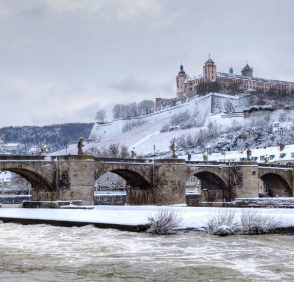 Main-Fortress-Marienberg-in-the-background,-Wurzburg-Germany