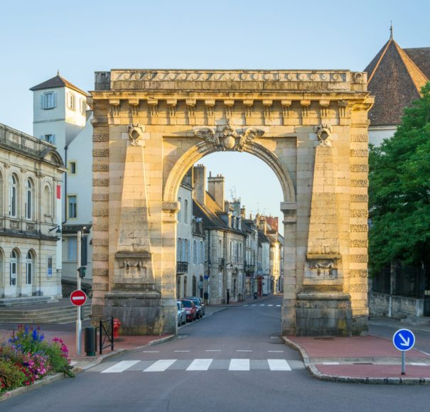 Rhone - Gate-at-the-Entrance-of-Beaune---FranceLowRes