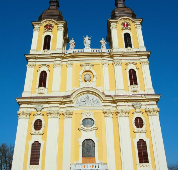 Titan Travel Great Church in Kalocsa City Hungary