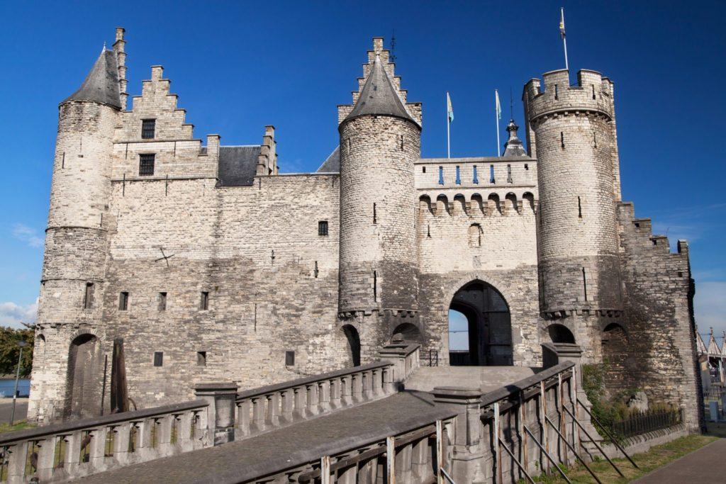 Het Steen Castle Antwerp Belgium