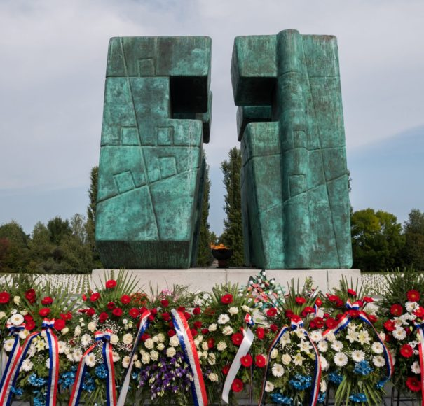 Danube - Homeland-war-memorial-cemetery-in-Vukovar,-CroatiaLowRes