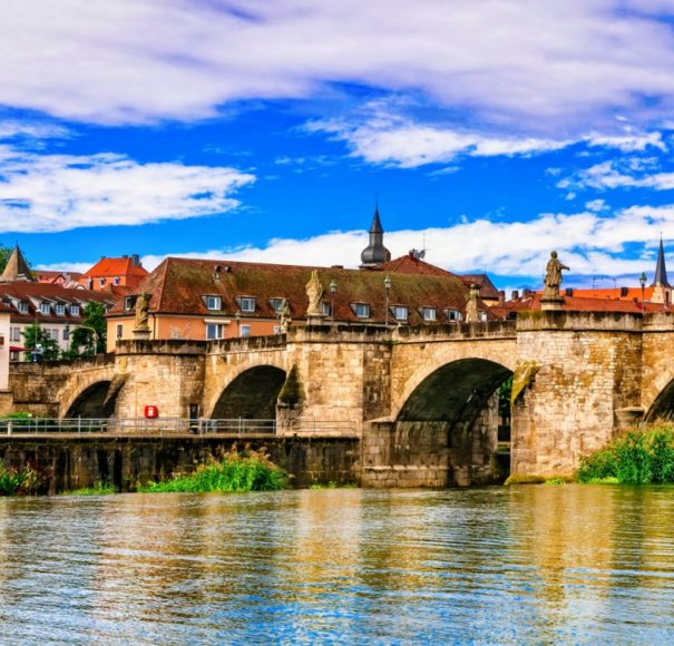 Main - Medieval-beautiful-towns-of-Germany---Wurzburg.-View-with-old-bridge.-Northen-BavariaLowRes