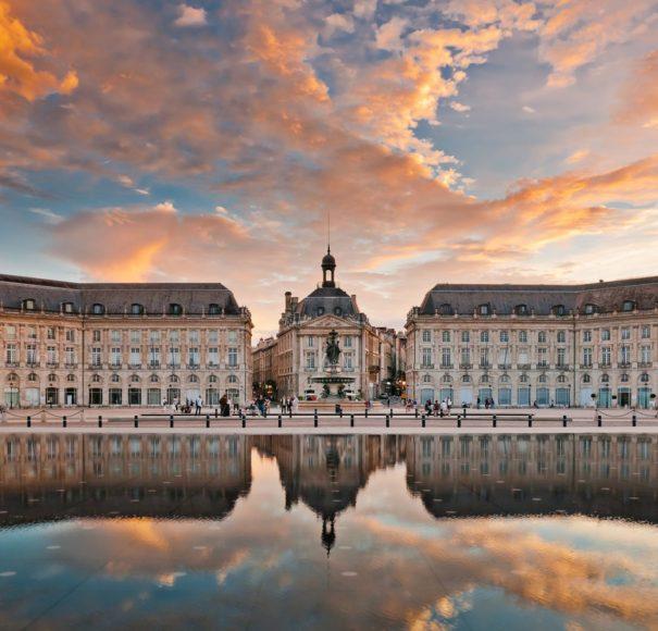 Place-de-la-Bourse-in-Bordeaux,-FranceLowRes