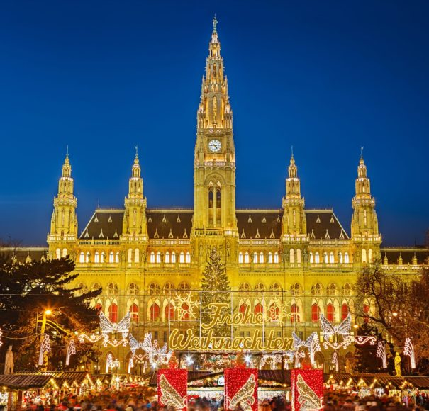 Danube - Rathaus-and-christmas-market-in-Vienna,-AustriaLowRes