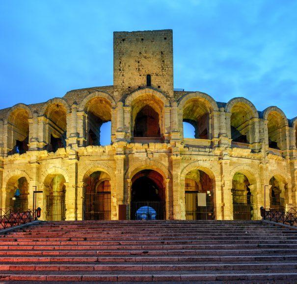River Cruise Roman Amphitheatre, Arles
