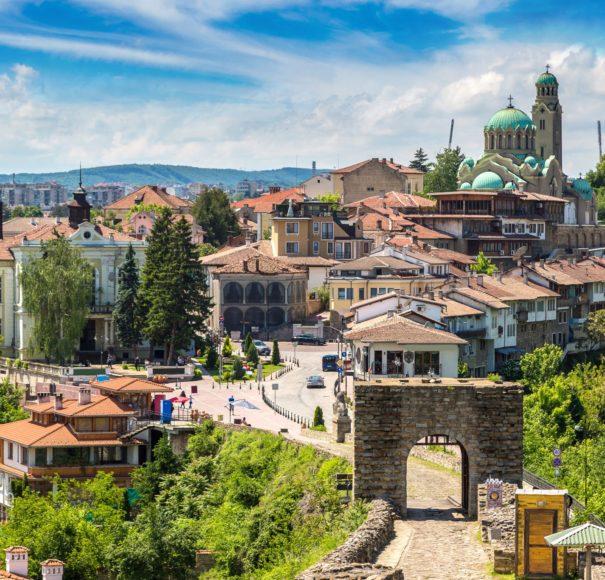 Danube River Cruise - Tsarevets Fortress in Veliko Tarnovo Bulgaria