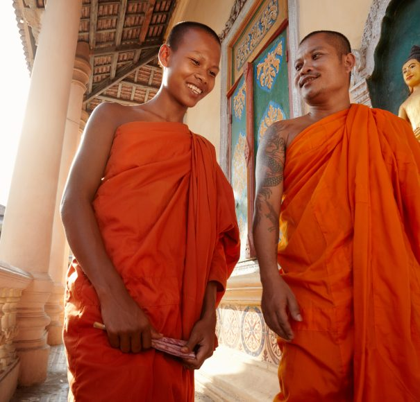 Buddhist Monks - Phnom Penh