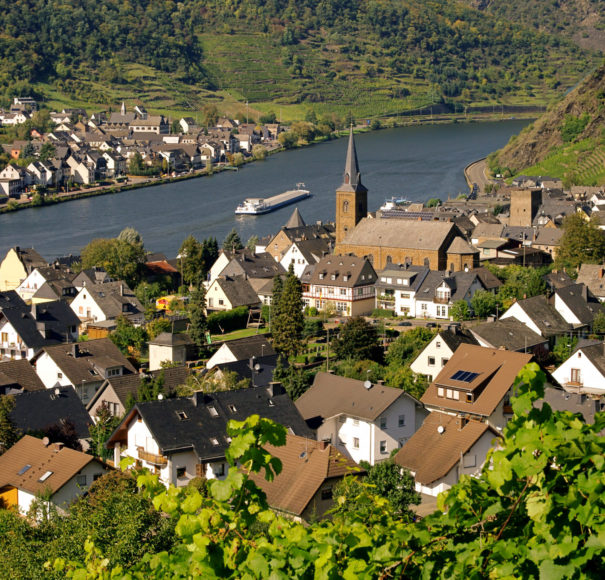 Alken, Germany, Rhine River