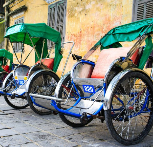 Cycle rickshaw (Cyclo) - Hoi An - Vietnam